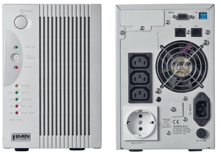 Источник бесперебойного питания IPPON Back Power Pro 600 - ИБП (Источник Бесперебойного Питания) .